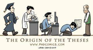 PhD Comics Dissertation